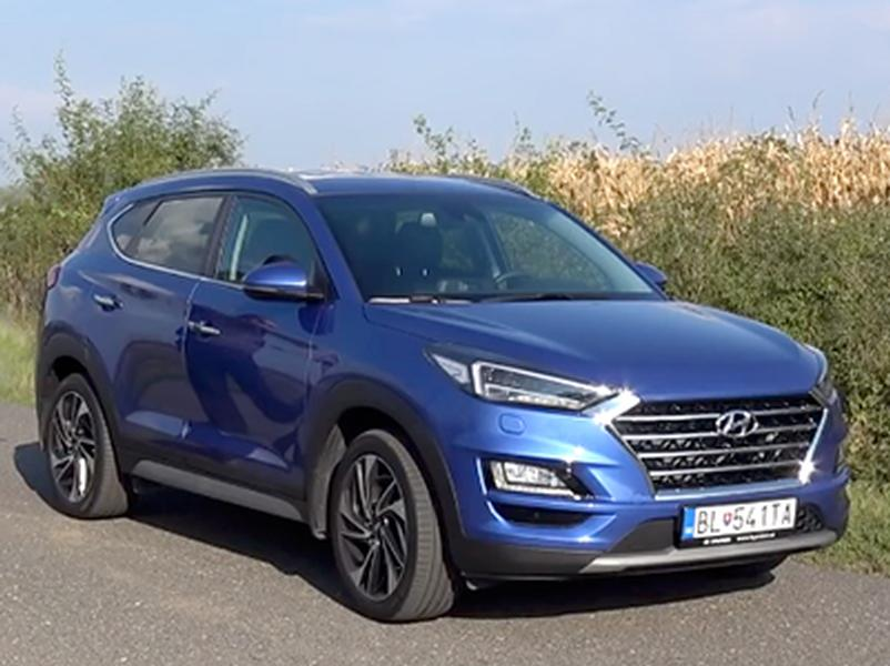 Video test Hyundai Tucson 1.6 T-GDI