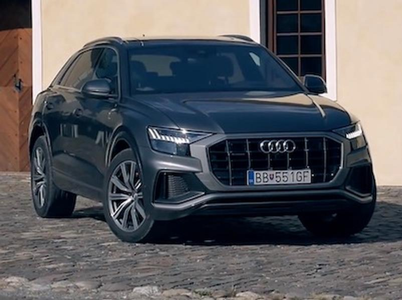 Video test Audi Q8 50 TDI