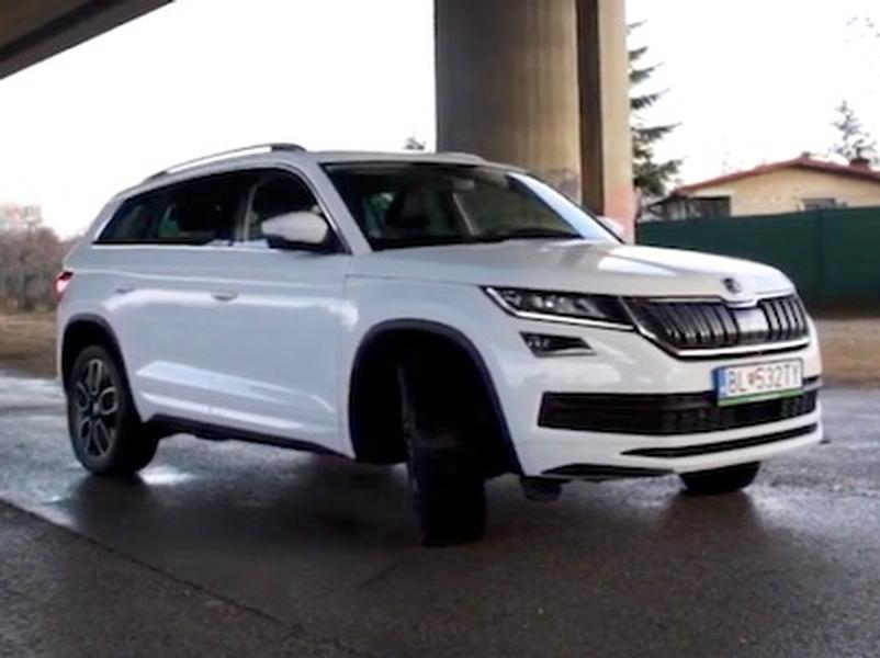 Video test Škoda Kodiaq