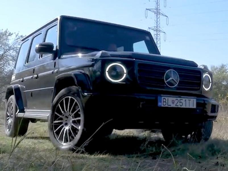 Video test Mercedes G500