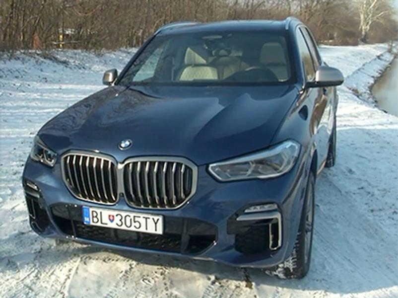 Video test BMW X5 M50d