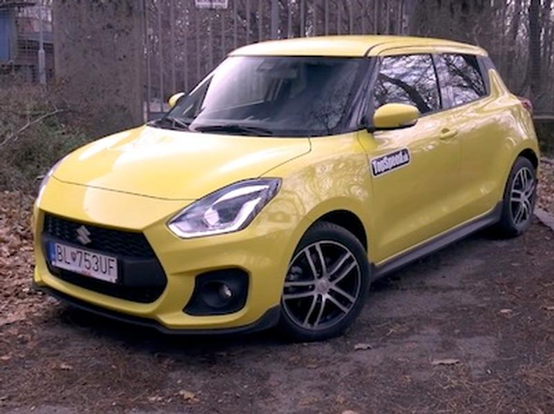 Video test Suzuki Swift Sport 1.4 boosterjet