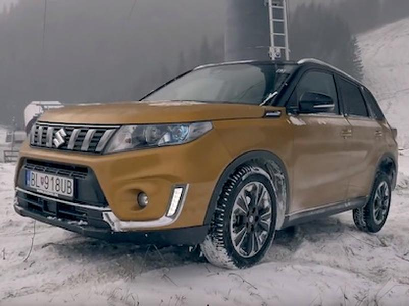 Video test Suzuki Vitara 1,4 BoosterJet