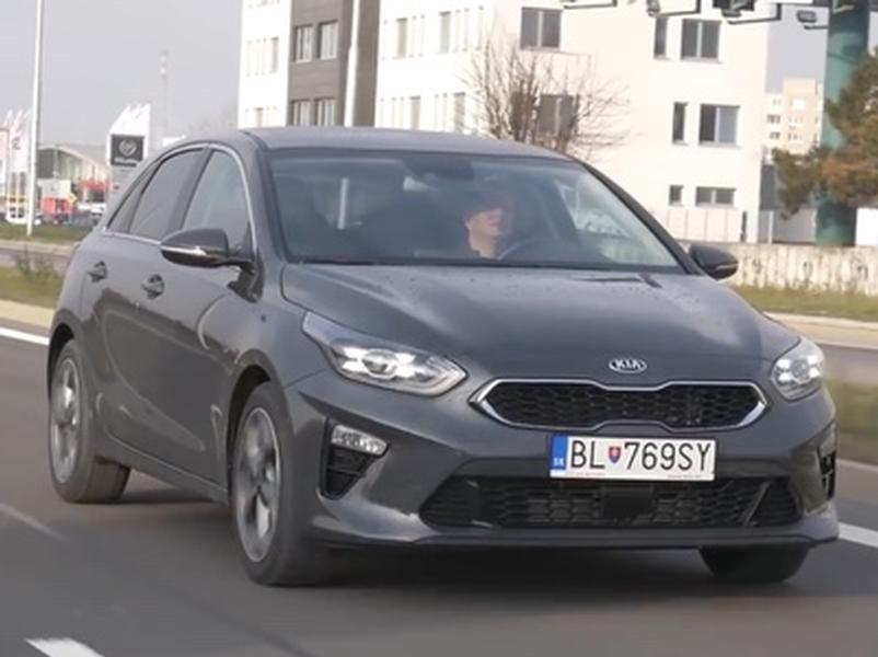 Video test KIA Ceed 1.4 T-GDi