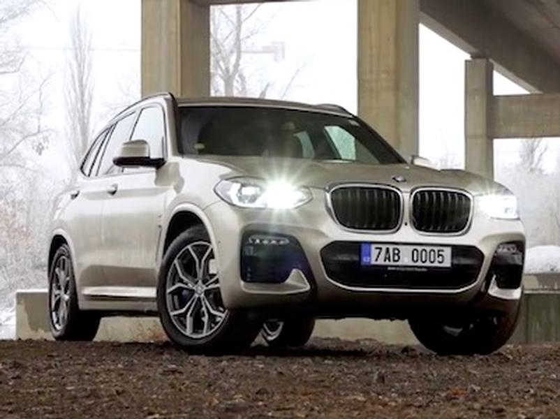 Video test BMW X3
