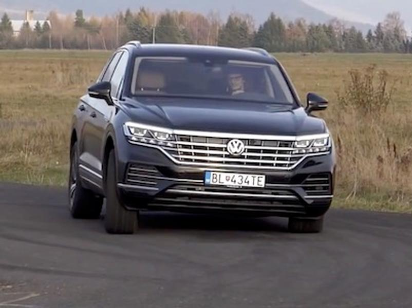 Video test Volkswagen Touareg 3.0TDI V6