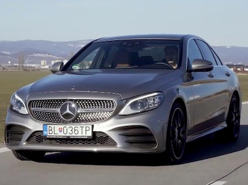 Video test Mercedes-Benz C 220d 4MATIC