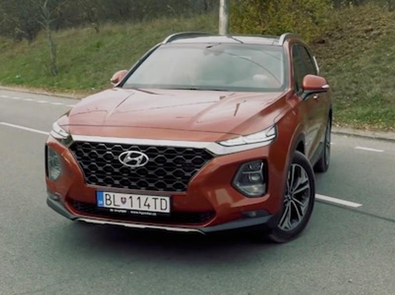 Video test Hyundai SantaFe 4WD