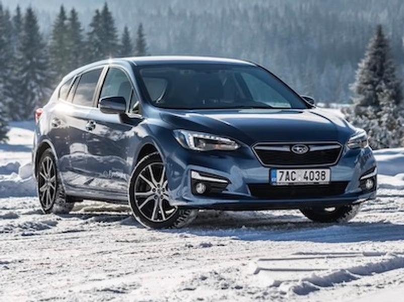 Video test Subaru Impreza 1.6i-S