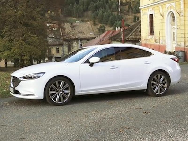 Video test Mazda6 2.5 Skyactiv-G
