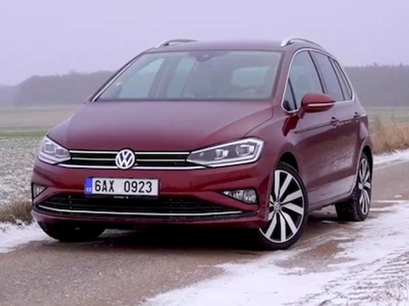 Video test Volkswagen Golf Sportsvan