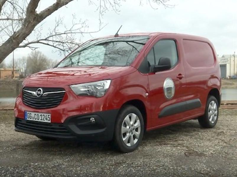 Video test Opel Combo Van