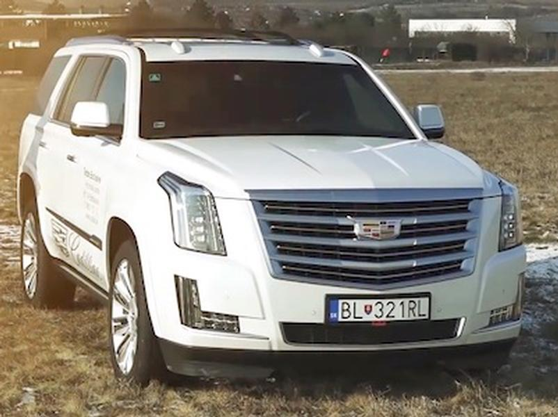 Video test Cadillac Escalade 6.2 V8