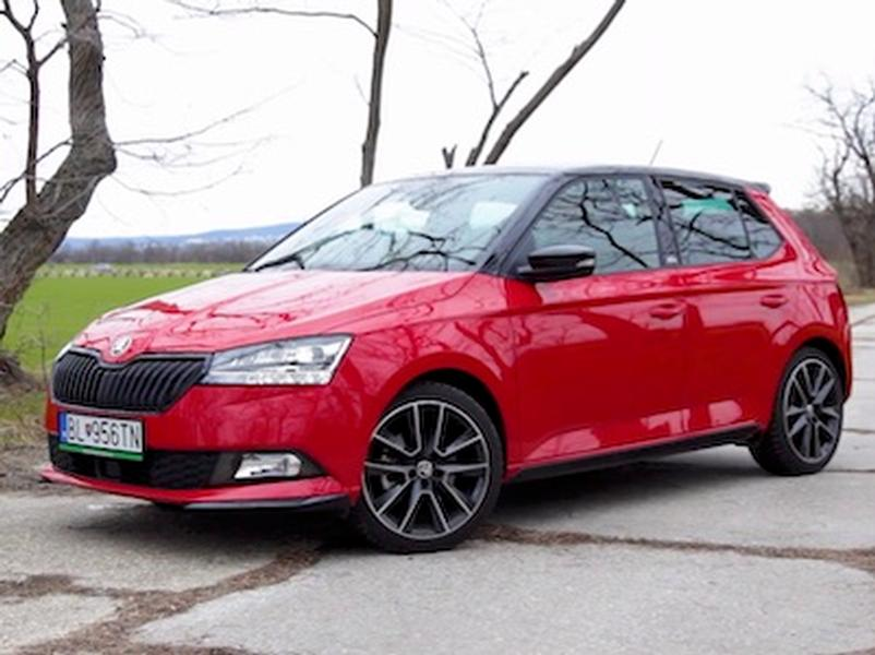 Video test Škoda Fabia Monte Carlo