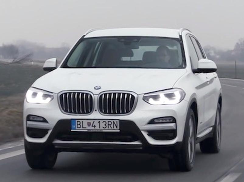 Video test BMW X3 20d