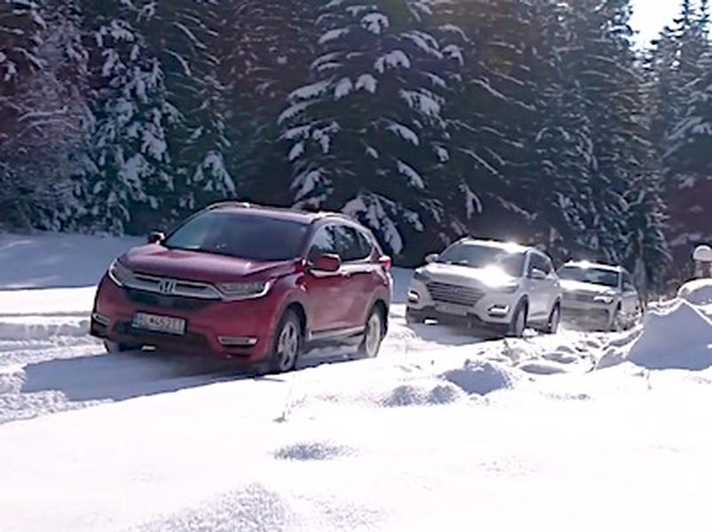 Test VW Tiguan vs Honda CR-V vs Hyundai Tucson