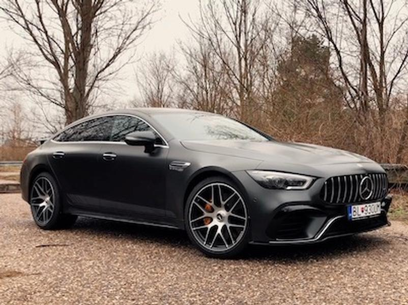 Video test Mercedes-AMG GT 63 S