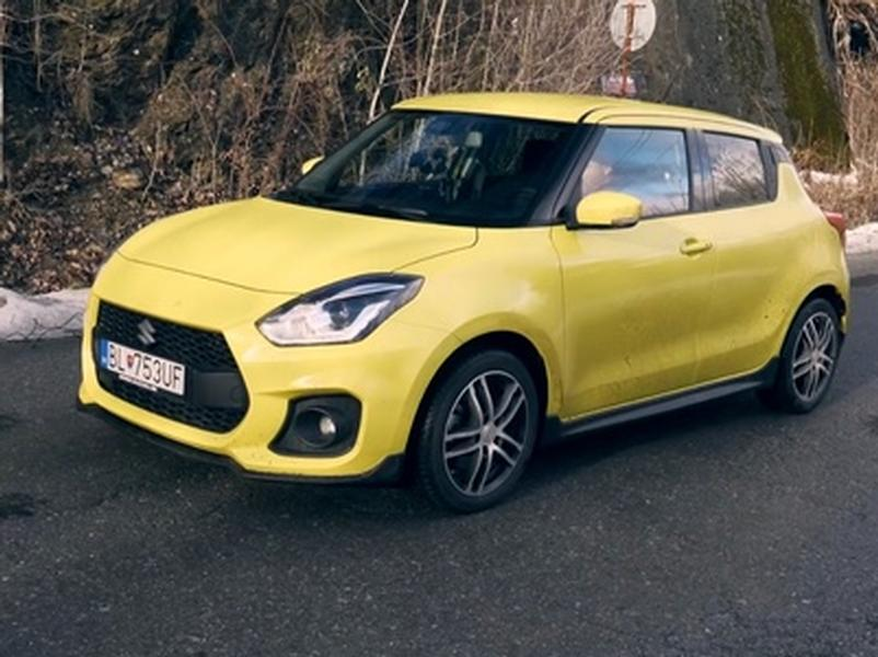 Test Suzuki Swift Sport 1,4 Turbo