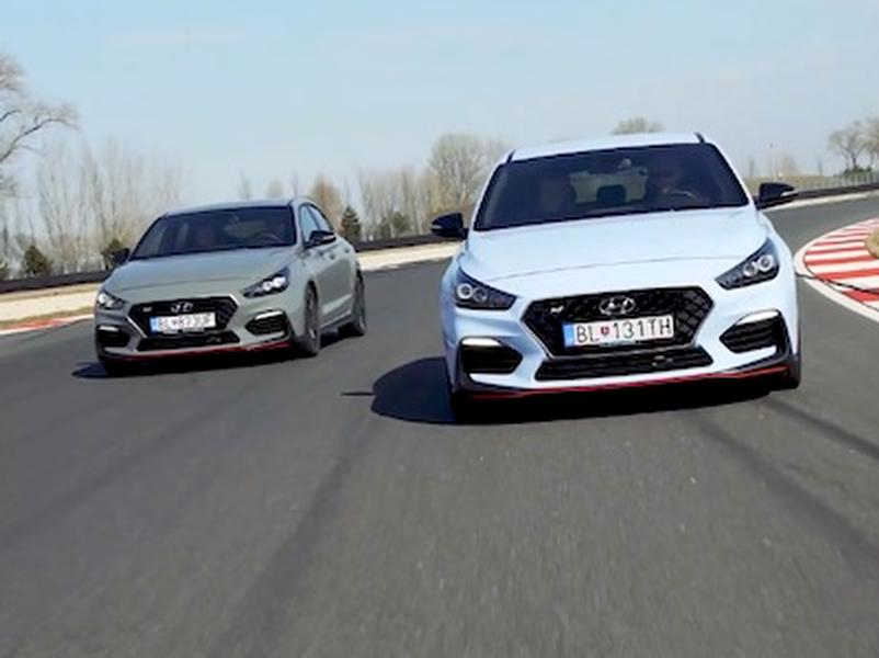 Video test Hyundai i30 Fastback N vs i30N