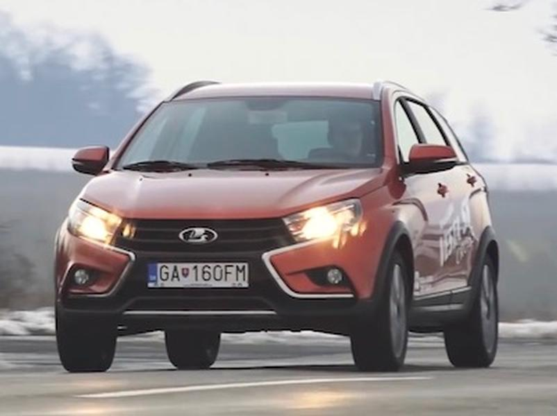 Video test Lada Vesta SW Cross 1.6 16V