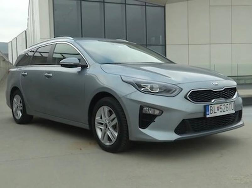Video test KIA Ceed SW 1.4 T-GDi