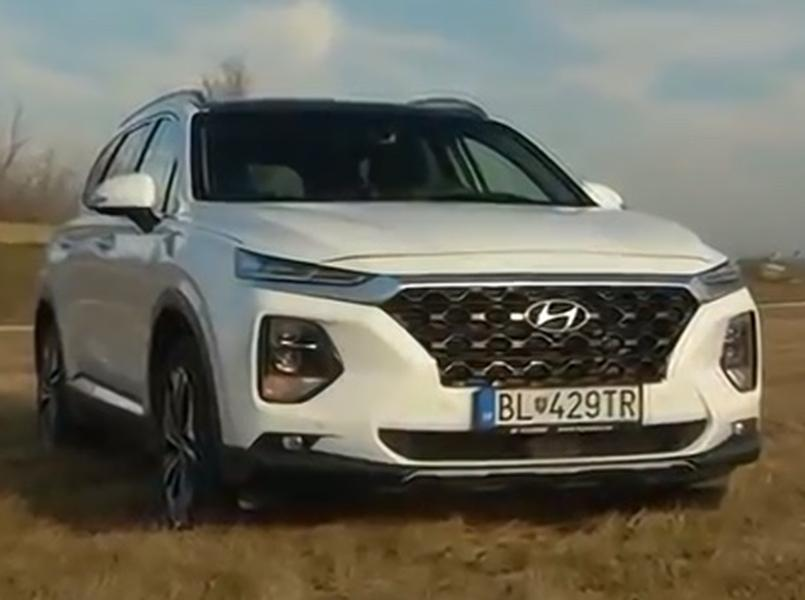 Video test Hyundai Santa Fe