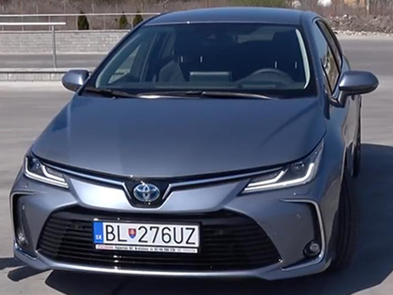 Video test Toyota Corolla 1.8 Hybrid