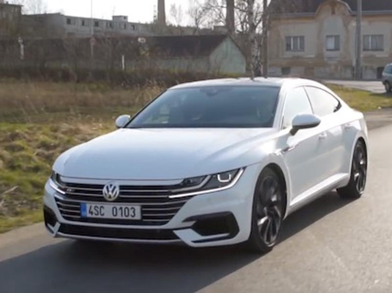 Video test Volkswagen Arteon 2.0 BiTDI 4Motion