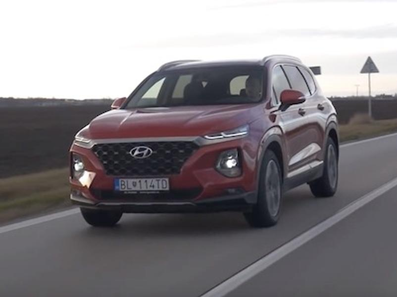 Video test Hyundai SantaFe
