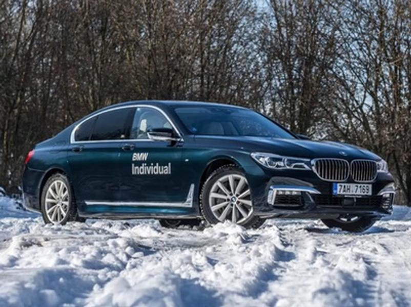 Video test BMW 750d