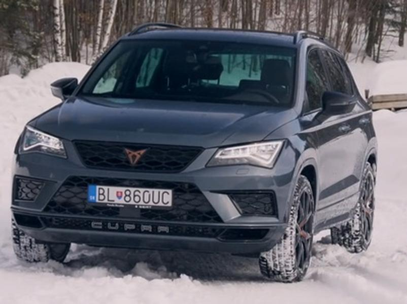 Video test Cupra Ateca 2,0 TSI 4 Drive