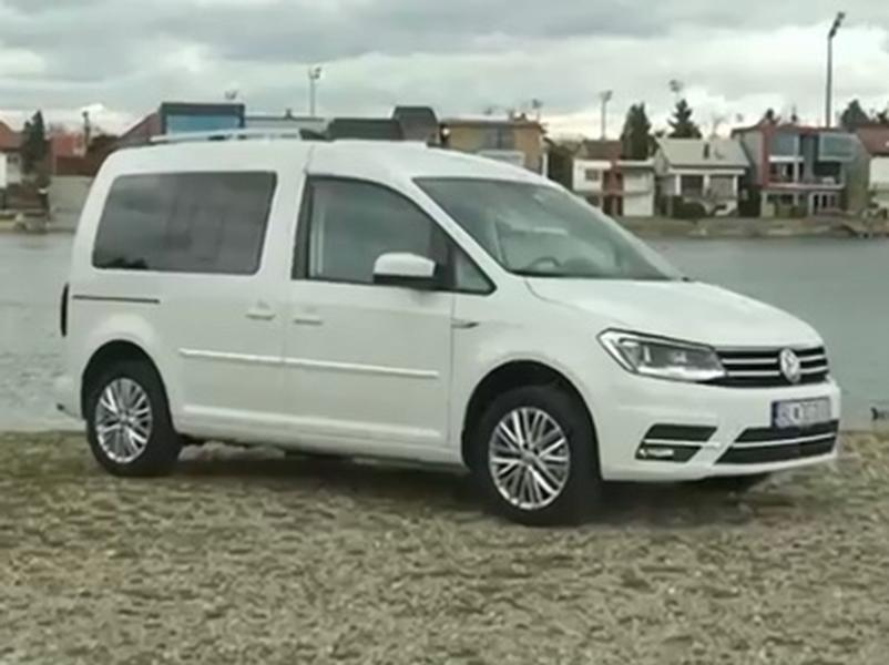 Video test VW Caddy 2.0 TDI 6st DSG