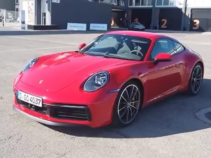 Video test Porsche 911 Carrera S/4S