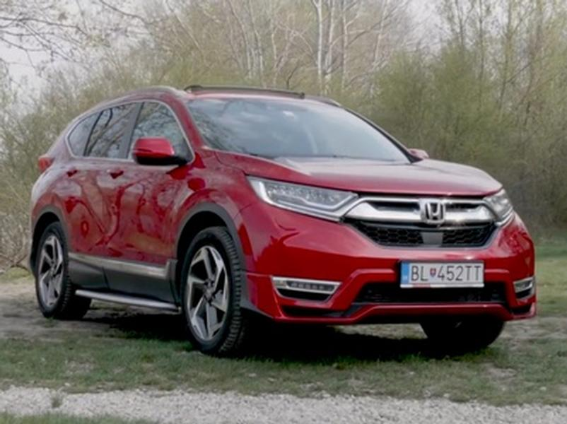 Video test Honda CR-V 1.5 VTEC