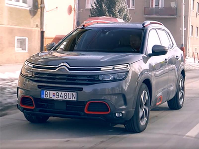 Video test Citroen C5 Aircross