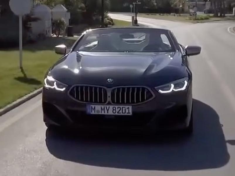 Video test BMW M850i xDrive Convertible