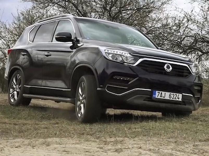 Video test SsangYong Rexton 2,2 e-XDI