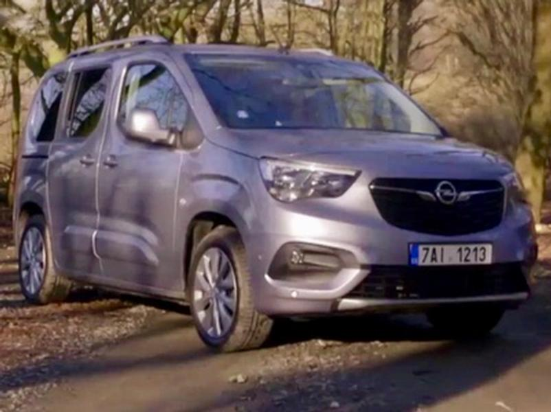 Video test Opel Combo Life 1.5 CDTI AT8