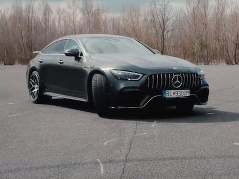 Test Mercedes-AMG GT 63 S 4MATIC+