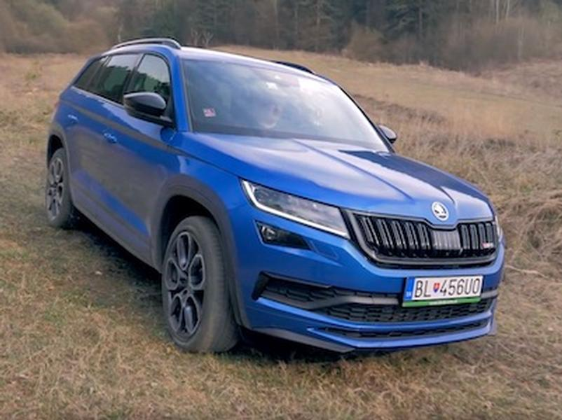Video test Škoda Kodiaq RS