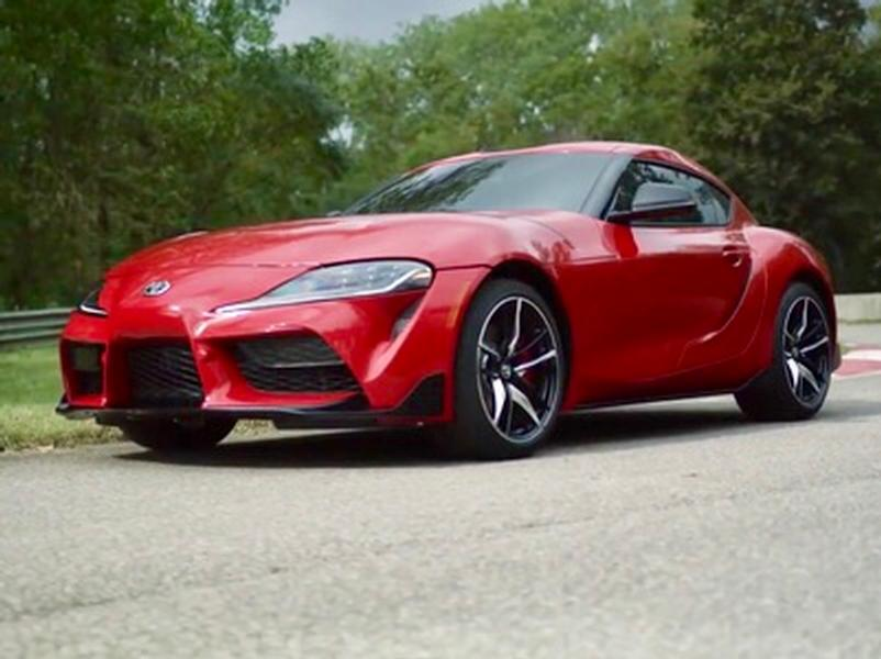 Video test Toyota Supra