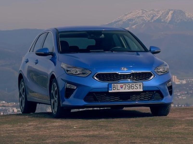 Test Kia CEED 1,4 T-GDI vs Kia PROCEED GT 1.6. TGDi