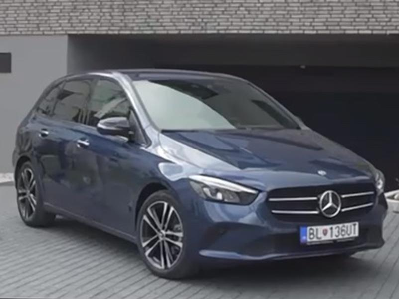 Test Mercedes-Benz B 180d