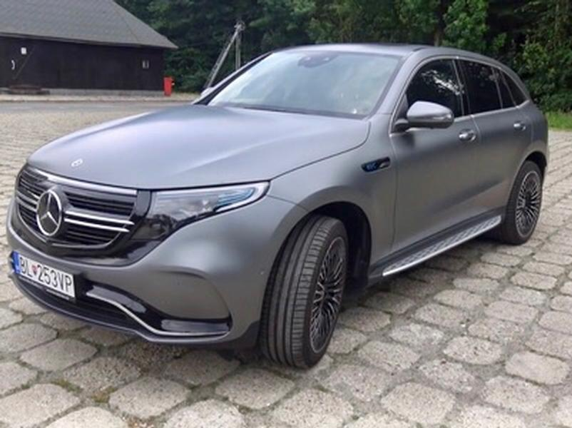 Video test Mercedes EQC 400 4MATIC