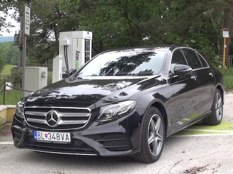 Video test Mercedes E300 de