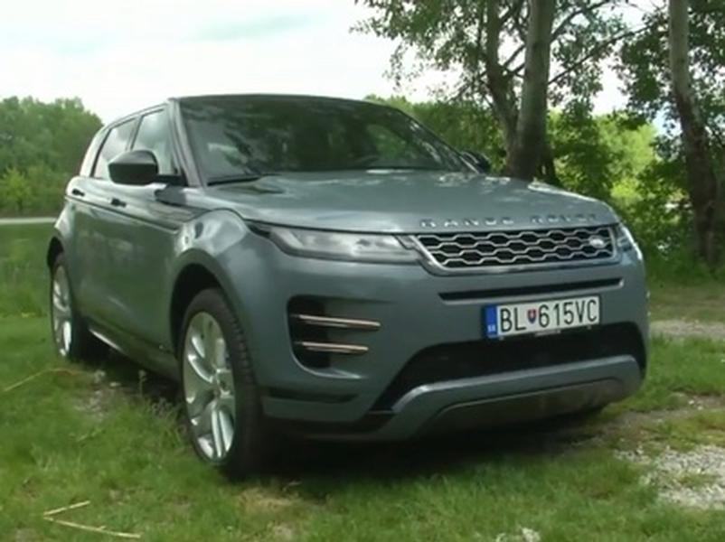Video test Range Rover Evoque P250 AWD