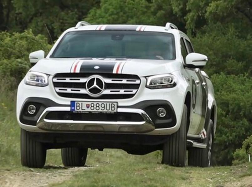 Video test Mercedes-Benz X 350d