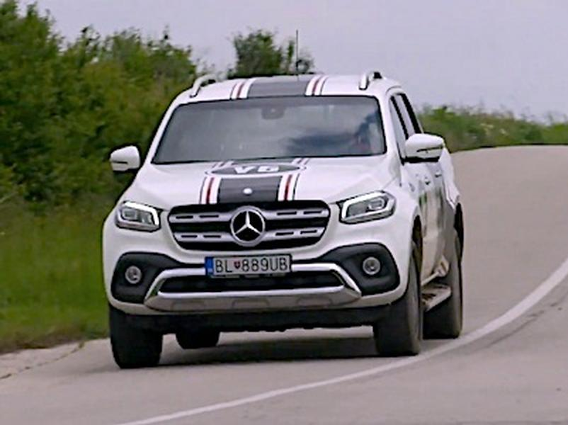 Video test Mercedes-Benz X350d