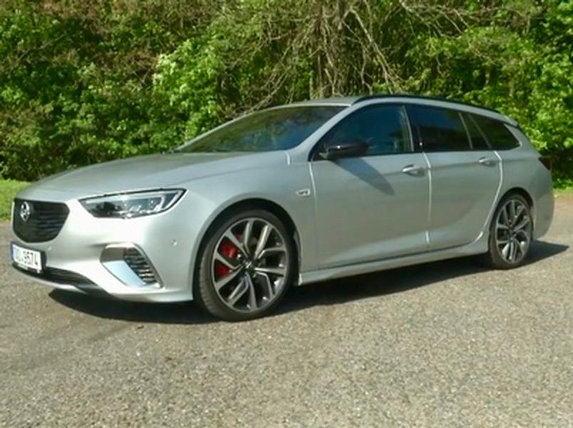 Video test Opel Insignia ST GSi 2.0 CDTI
