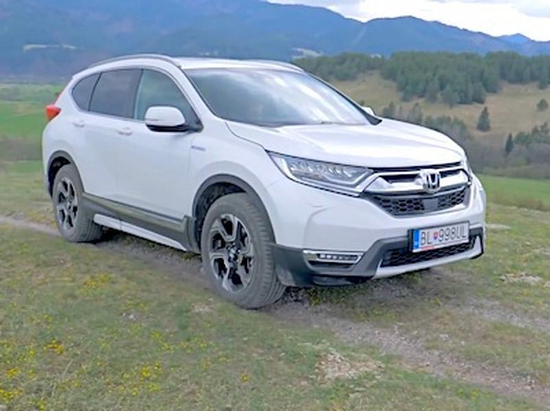 Video test Honda CR-V Hybrid AWD